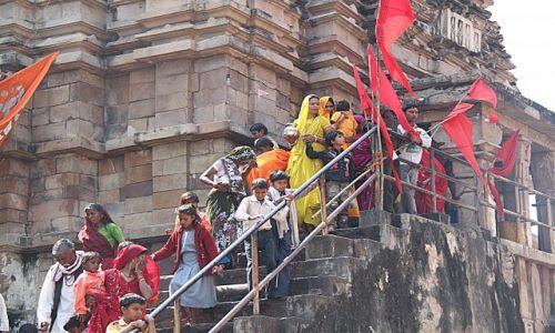 Zdjecie INDIE / Madhya Pradesh / Khajuraho / Po wizycie w świątyni