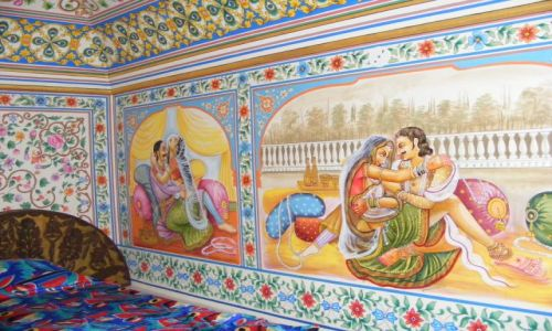 Zdjecie INDIE / - / Indie- Mandawa / Mandawa -hotel room