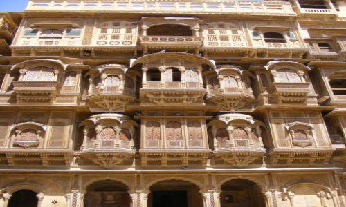 Zdjecie INDIE / - / Jaisalmer-Indie / Indie- haveli w