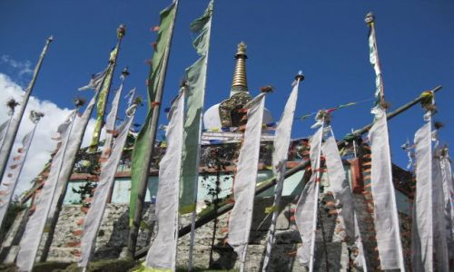 Zdjęcie INDIE / Arunachal Pradesh / Tawang / Himalaje / Powiew Tybetu