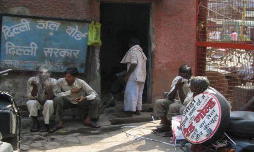 Zdjecie INDIE / - / Old Delhi / Zapracowani
