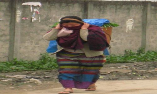 Zdjęcie INDIE / Arunachal Pradesh / Ziro / To wcale nie jest ciężkie