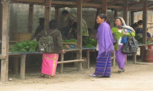Zdjęcie INDIE / Arunachal Pradesh / Ziro / Lokalny bazarek