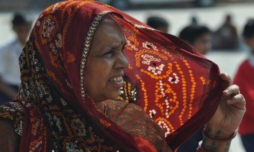 INDIE / Rajasthan / Jaipur / Portret