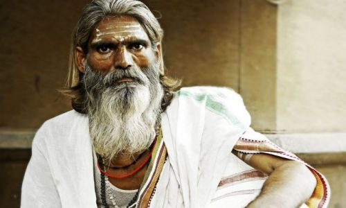Zdjecie INDIE / Uttar Pradesh / Waranassi / When I met Jesus...