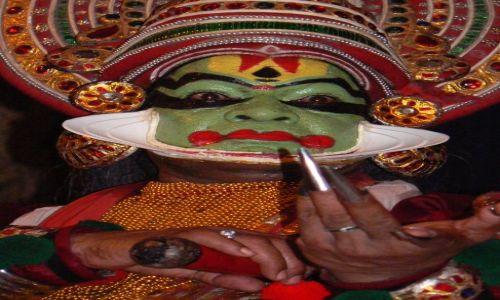 Zdjęcie INDIE / - / Cochin / Spektakl Katkhakali