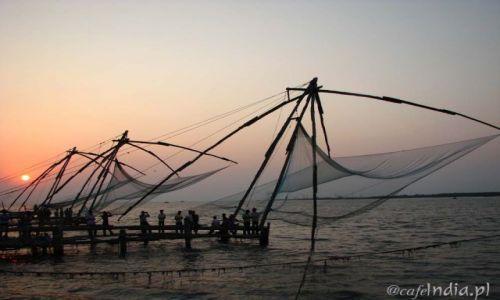 Zdjecie INDIE / Kerala / Kochin / Chińskie sieci rybackie