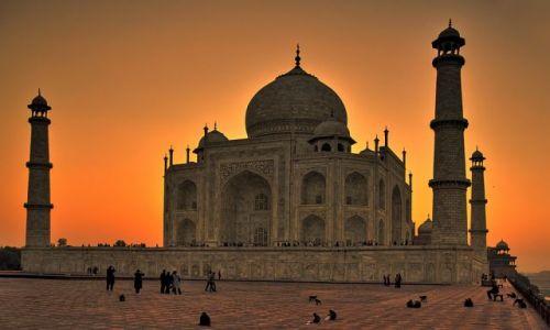 Zdjecie INDIE / - / Agra / Tadż Mahal