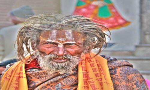 Zdjecie INDIE / Rajasthan / Udaipur / Sadhu