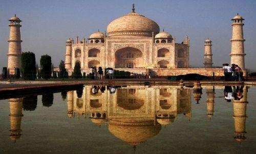 Zdjecie INDIE / - / Agra / Tadz Mahal