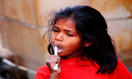 INDIE / Rajasthan / Jaisalmer / myć trzeba
