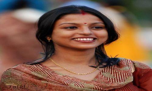 Zdjecie INDIE / - / Agra / Młoda Hinduska