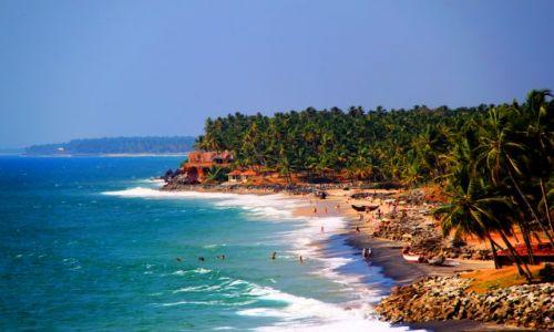 Zdjęcie INDIE / Kerala / Verkala / A do lata  daleko....