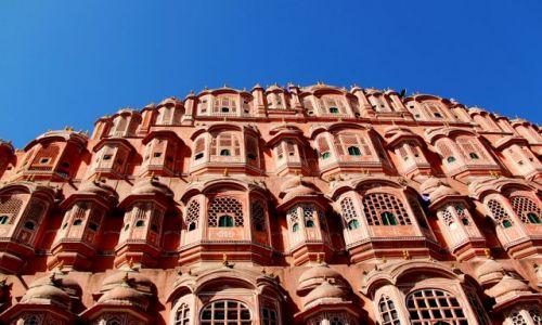 Zdjecie INDIE / Rajasthan / Jaipur / różowe miasto
