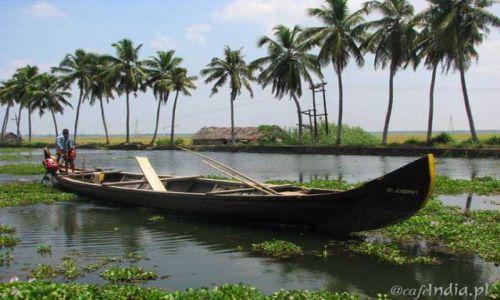 Zdjecie INDIE / Kerala / Kanały wodne / Kanały wodne Kerali
