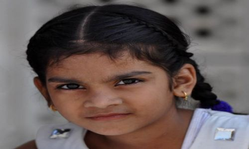 Zdjecie INDIE / - / Agra / Dziewczynka