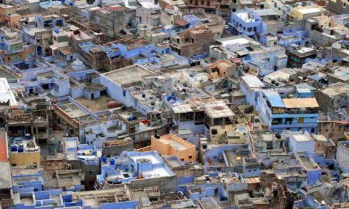 Zdjecie INDIE / Rajastan / Jodhpur / Niebieskie Miasto