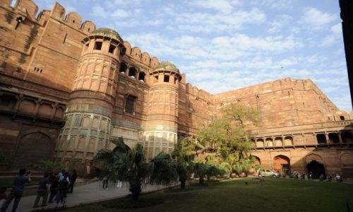 Zdjecie INDIE / Agra / Agra / Fort Agra
