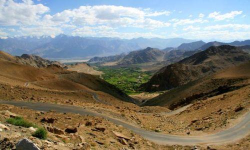 Zdjęcie INDIE / Ladakh / Leh / Zjazd z Khardung La