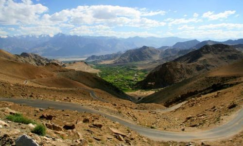 Zdjecie INDIE / Ladakh / Leh / Zjazd z Khardung La