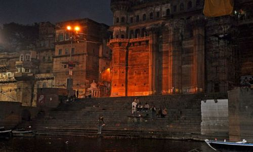 Zdjecie INDIE / miasto indyjskie w stanie Uttar Pradesh, / Varanasi /  Konkurs   Vara