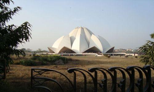 Zdjecie INDIE / Delhi / Delhi / Swiatynia Lotos