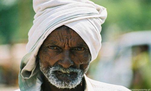 Zdjęcie INDIE / -Kerala / bombaj / egzotyczna twarz