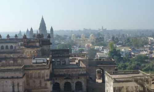 INDIE / - / Orchha / Pałac Jahangira