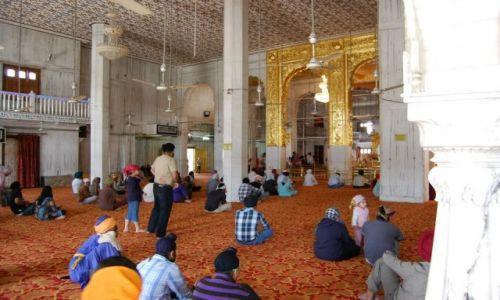 INDIE / Delhi / Delhi / Świątynia Sikhów - Bangla Sahib Gurdwara