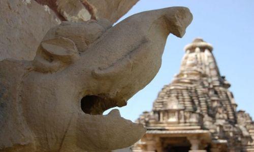 INDIE / Madhya Pradesh / Khajuraho / Świątynie w Khajuraho