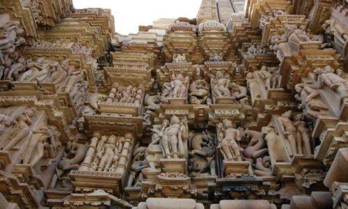 Zdjecie INDIE / Madhya Pradesh / Khajuraho / Świątynie Miłoś
