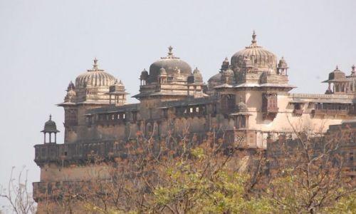 INDIE / Uttar Pradesh / Orchha / Pałac miejski