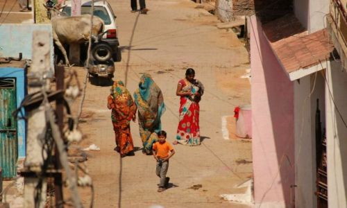 Zdjecie INDIE / Uttar Pradesh / Orchha / Na spacerze