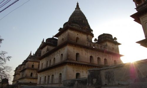 INDIE / Uttar Pradesh / Orchha / Royal chatri