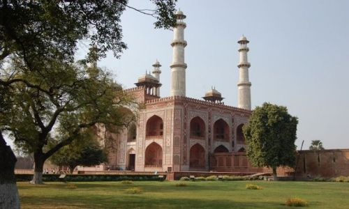 INDIE / Uttar Pradesh / Agra / Mauzoleum Akbara