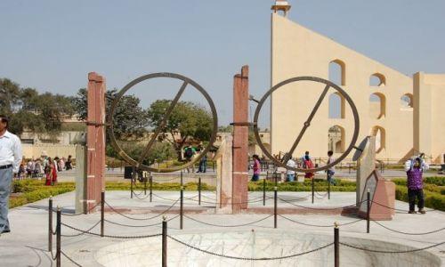 Zdjecie INDIE / Radżastan / Jaipur / Dżantar Mantar – obserwatorium astronomiczne