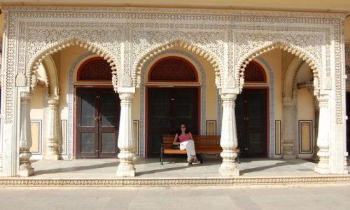 Zdjecie INDIE / Radżastan / Jaipur / Pałac Powitań