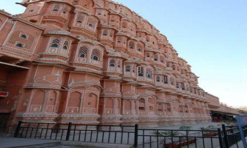 Zdjecie INDIE / Radżastan / Jaipur / Słynne Hawa Mahal
