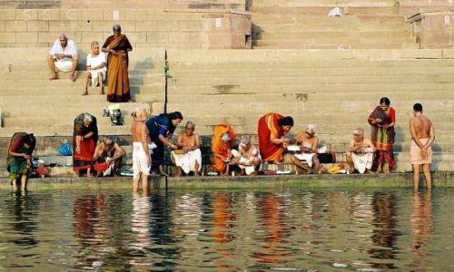 Zdjecie INDIE / Uttar Pradesh / Varanasi / w Waranasi