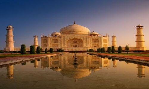 Zdjecie INDIE / - / Agra / Taj raniutko