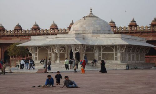Zdjecie INDIE / - / Fatehpur Sikri / Meczet