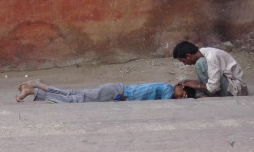 Zdjęcie INDIE / - / Delhi / przysługa