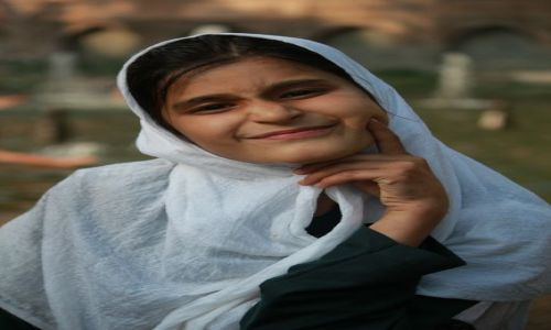 Zdjęcie INDIE / Kaszmir / Srinagar / Mała induska