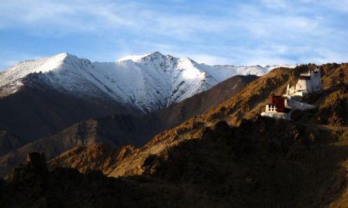 Zdjęcie INDIE / Ladakh / Leh / Fort w Leh v2