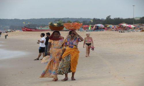 Zdjecie INDIE / Goa / Calangute / na plaży