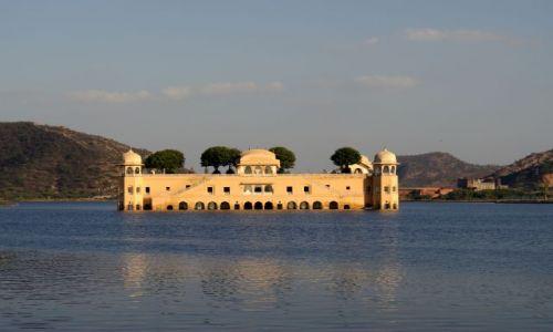 Zdjecie INDIE / Rajasthan / Jaipur / Pałac na wodzie