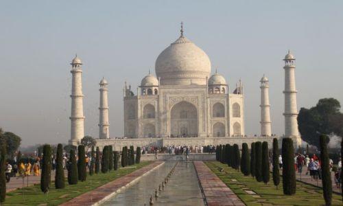 Zdjęcie INDIE / Agra / Taj Mahal / Doskonałość