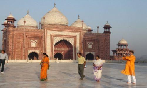 Zdjęcie INDIE / Agra / Taj Mahal / To też jest Taj Mahal..