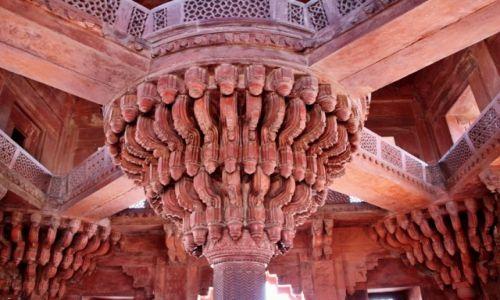 Zdjecie INDIE / - / Fatehpur Sikri / Sztuka...