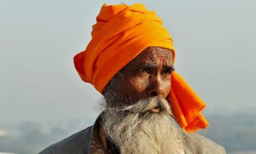 Zdjęcie INDIE / Agra / Taj Mahal / Sadhu
